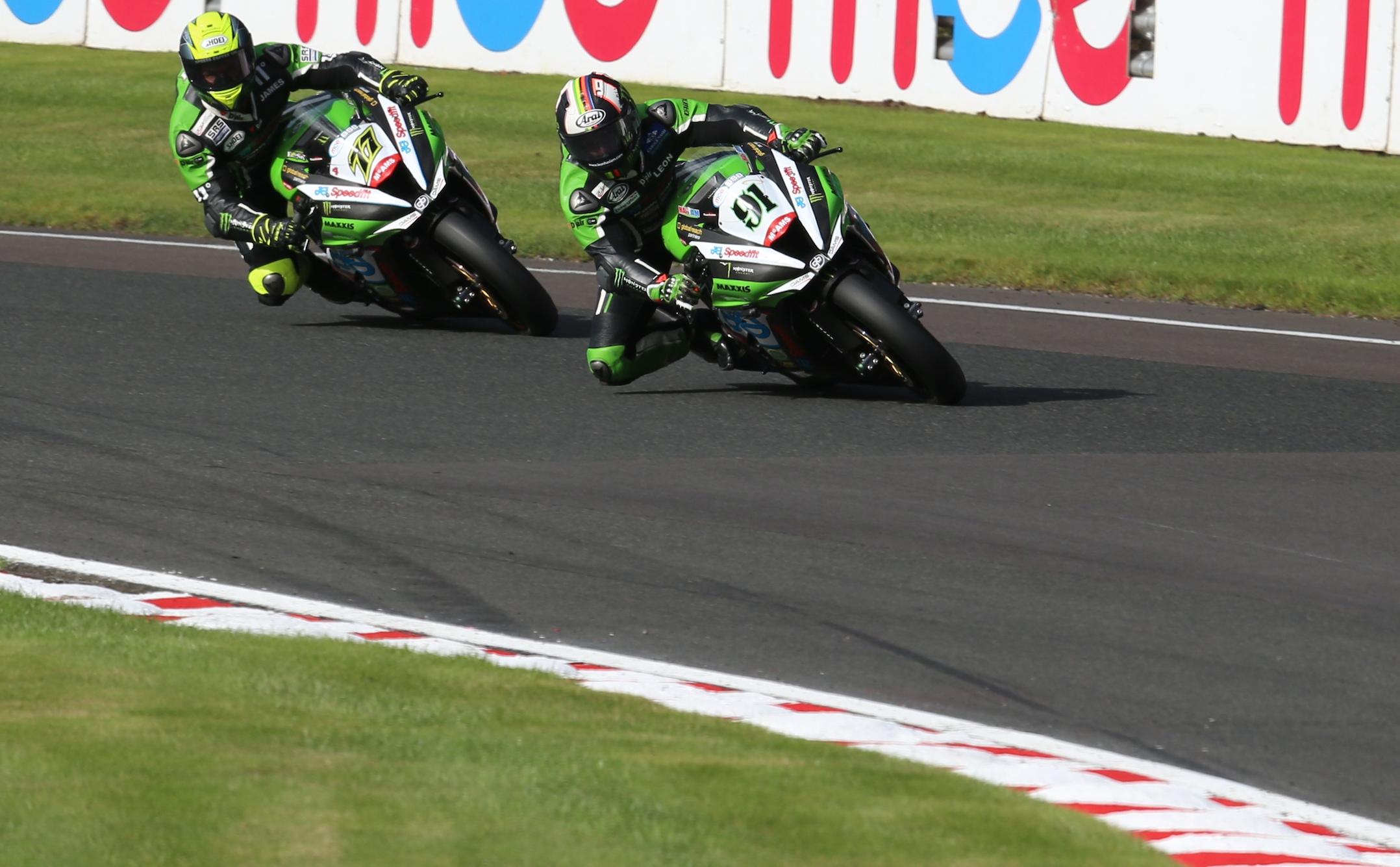 Haslam and Ellison BSB 2016, image credit JG Speedfit Kawasaki