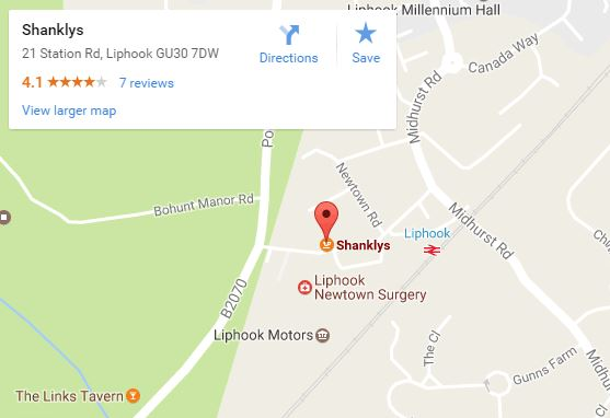 Shanklys map