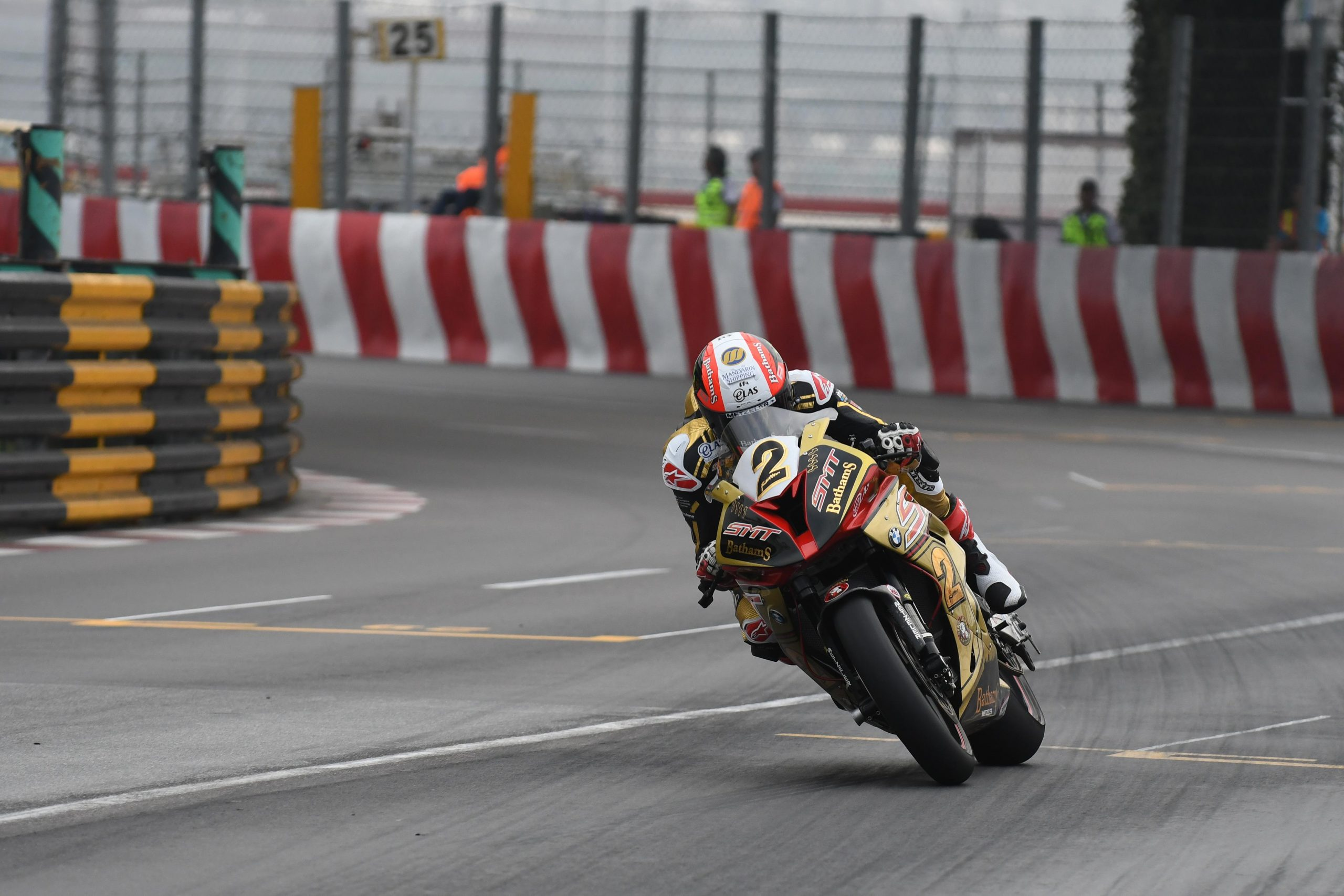 Michael Rutter Macau 2016, image credit Stephen Davison (Pacemaker Press International)