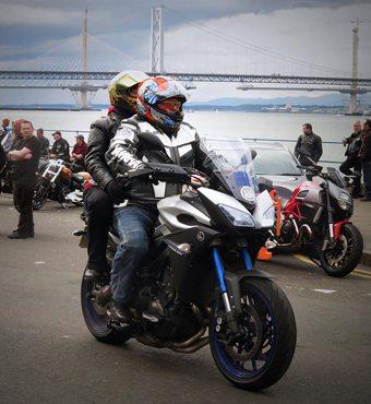 Bikers cover ride in credit fb