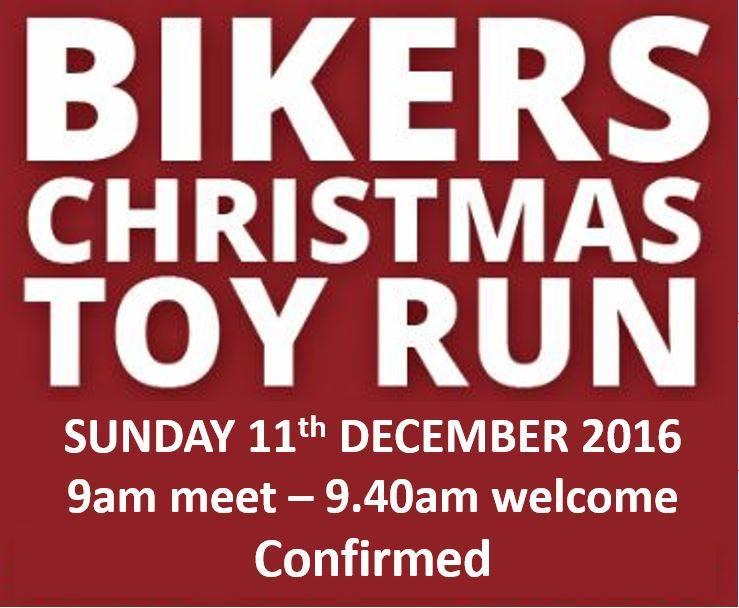 Cambridge Bikers Christmas Toy Run