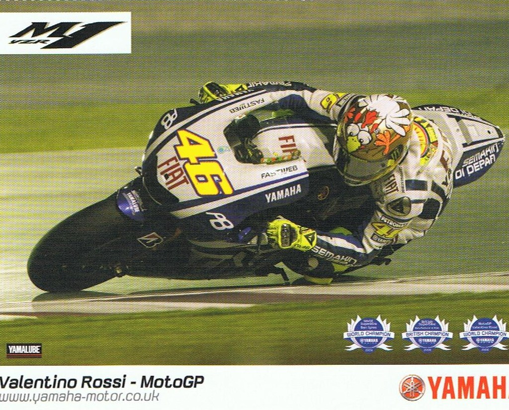 Rossi at Qatar 2010 credit Phil Wain's Family Archive