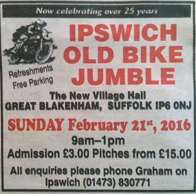 Ipswich old bike jumble