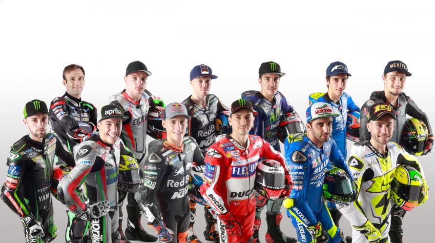 MotoGP 2017 grid image credit @MotoGP Twitter