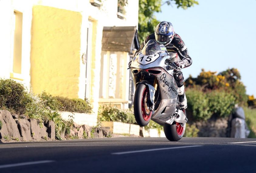 David Johnson Norton TT2017 image credit @MCNSport