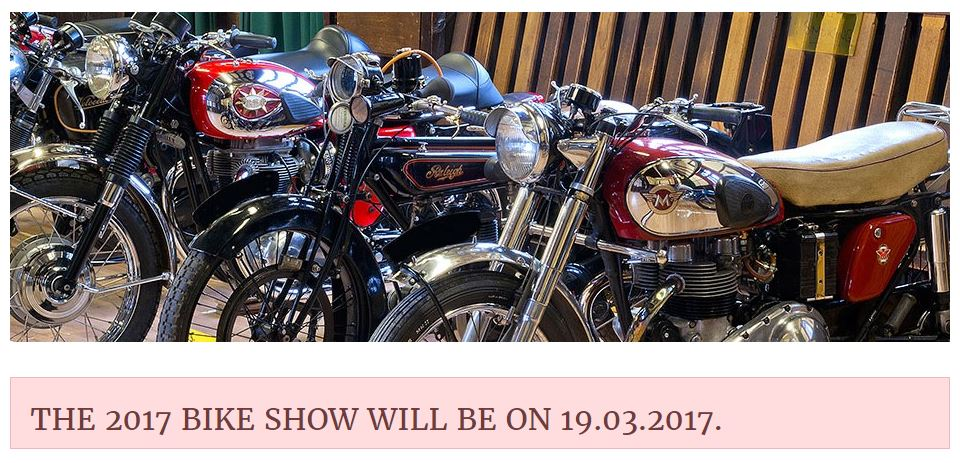Shropshire Vintage and Classic Motorcycle Show