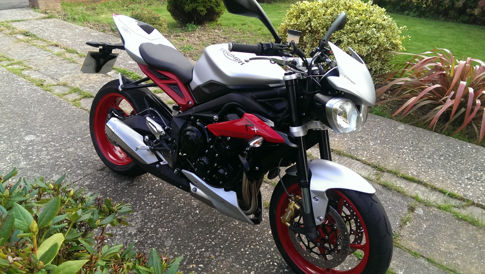 Alan Ford – Triumph Street Triple R