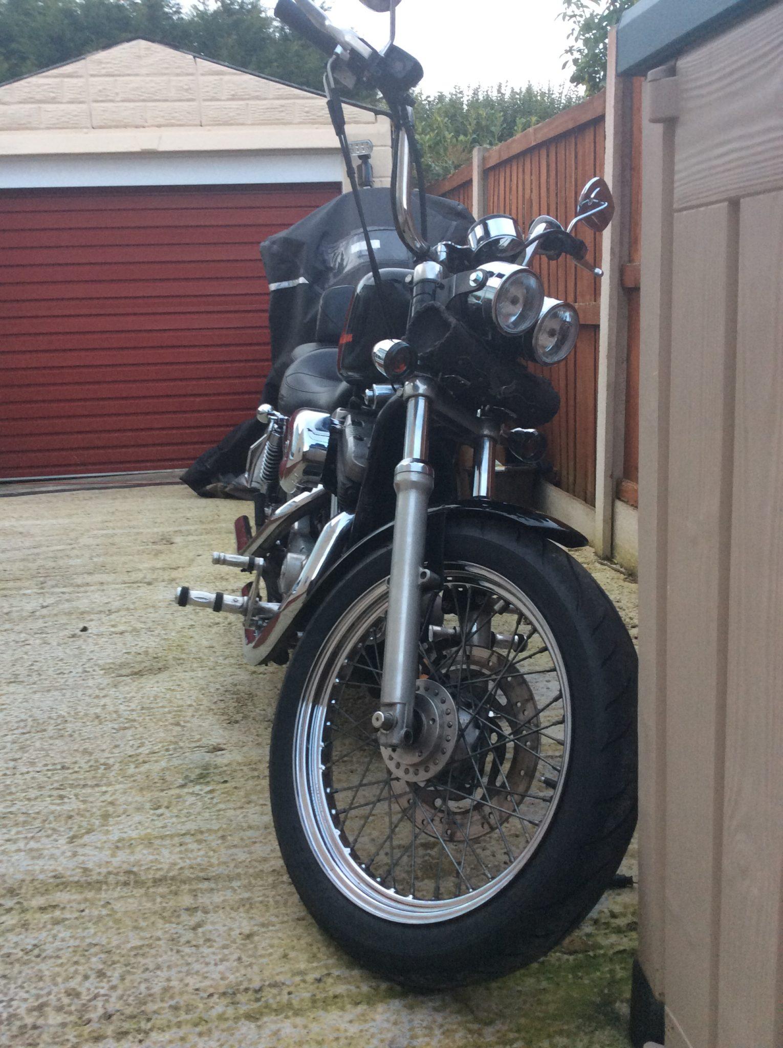 Andrew Saul – Harley Davidson Sportster 883 2