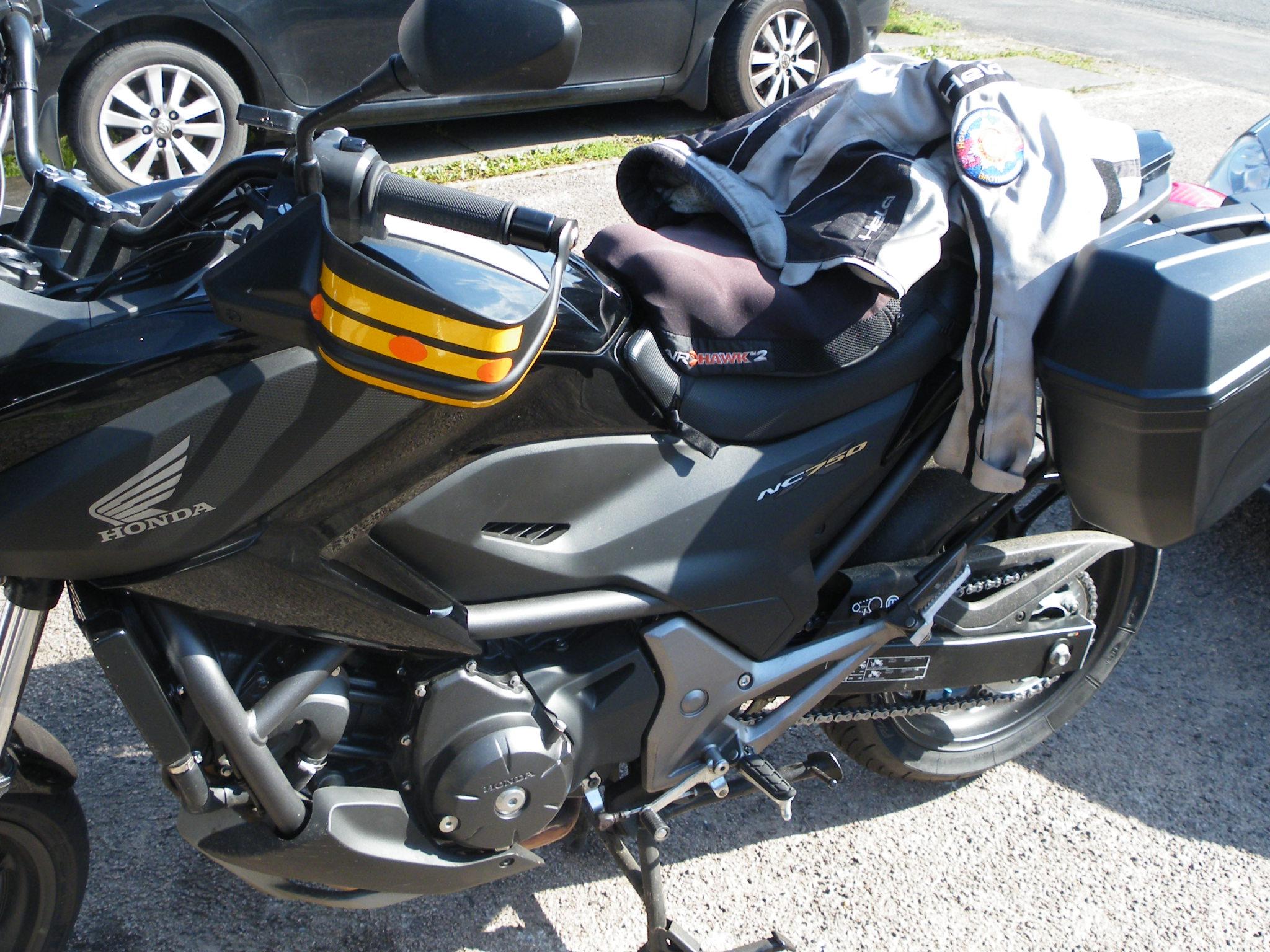 Andy – Honda NC750X