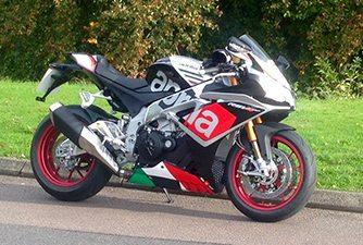 motorcycle manufacturers: Aprilia RSV4 RF