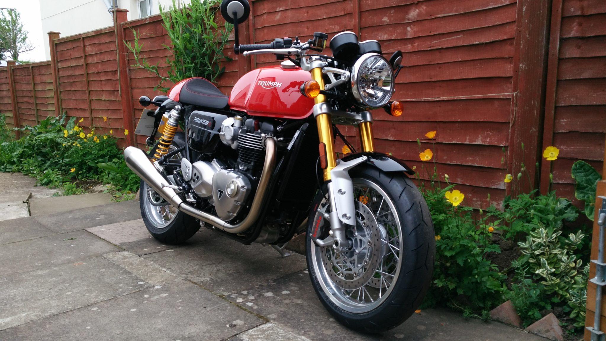 Colin McQuistan – Triumph Thruxton 1200 1