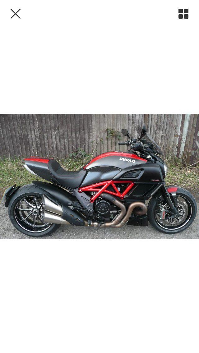 Colin Rix – Ducati Diavel