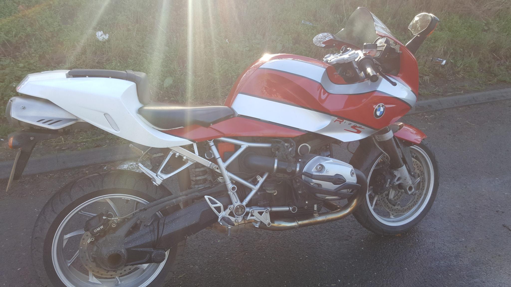 Darren – BMW R1200S
