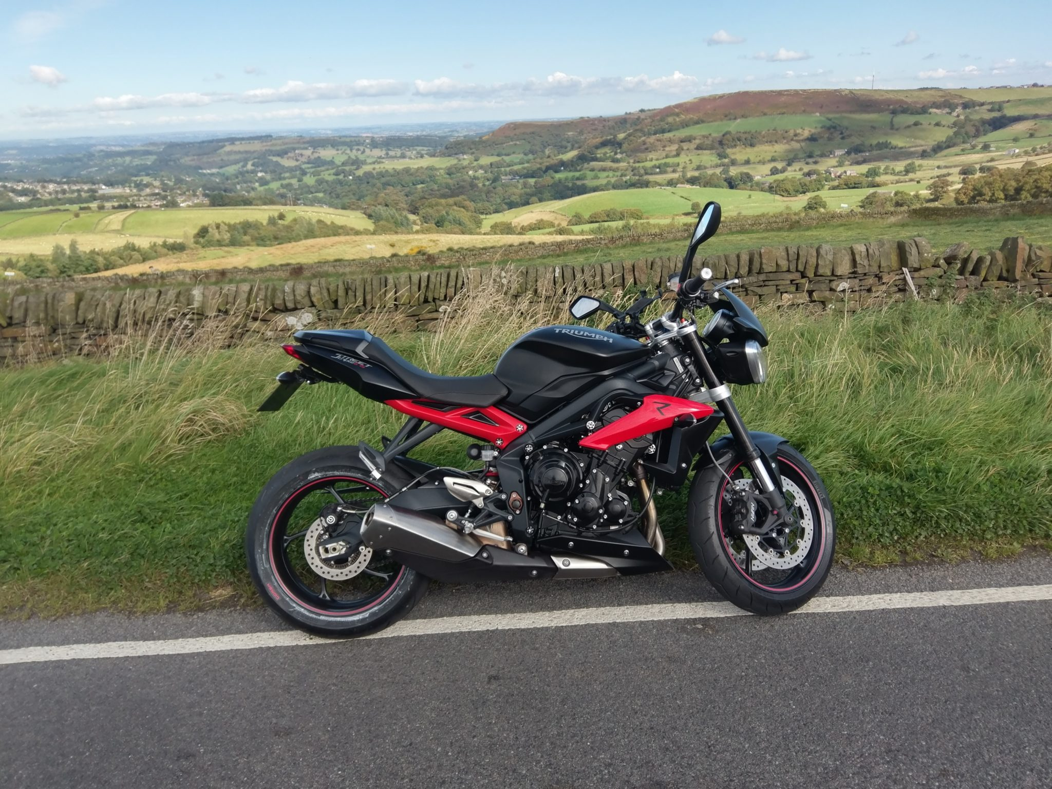 David shepherd – Triumph Street Triple R
