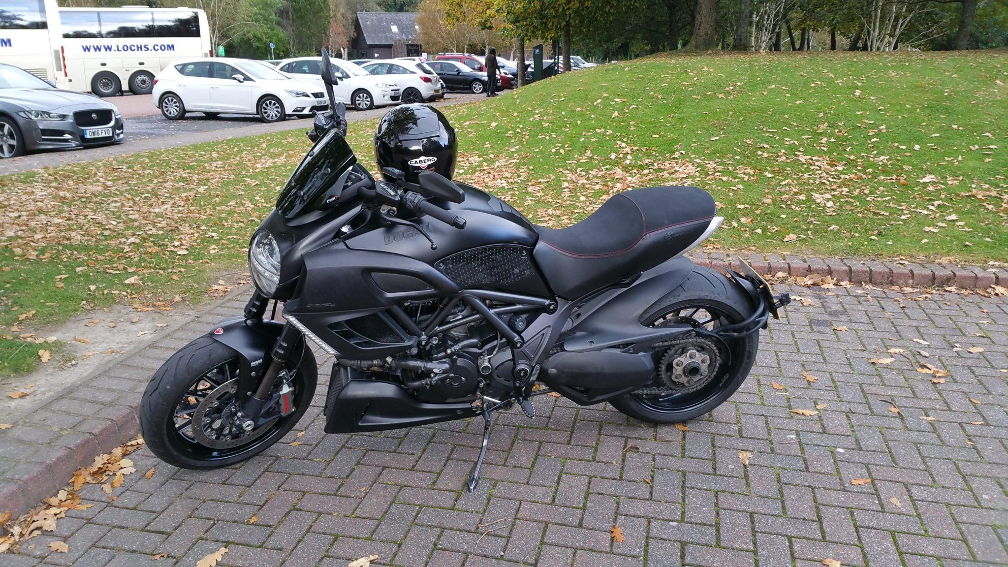 Dennis McLaughlin – Ducati Diavel