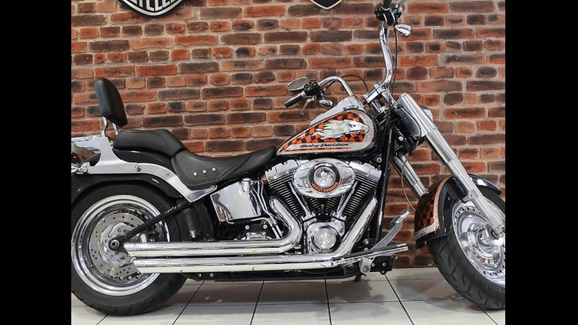 Dudley – Harley Davidson Fat Boy