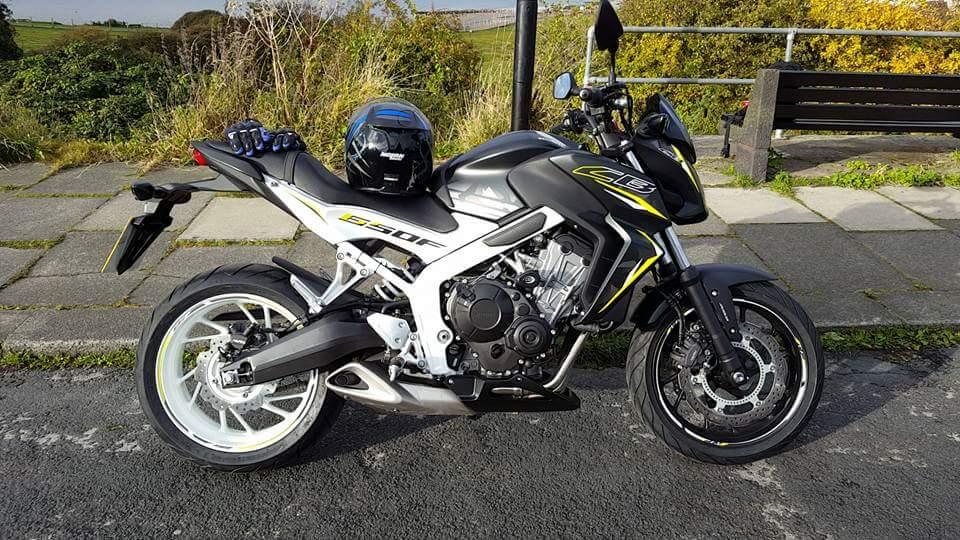 Gary – Honda CB650F
