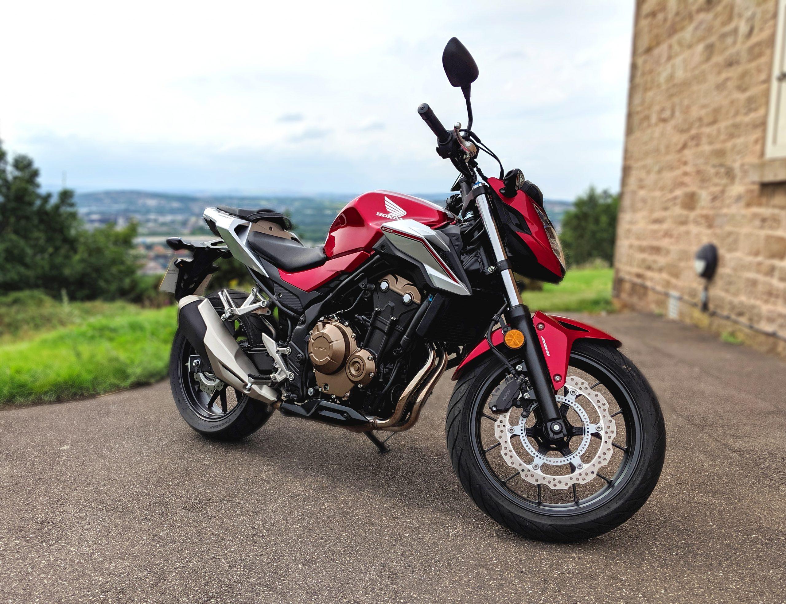 Honda CB500F – Dom
