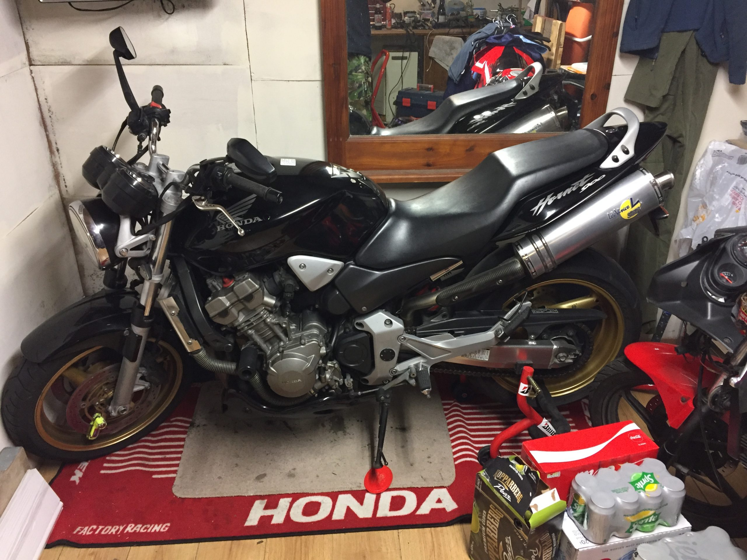 Honda CB600F Hornet – Paul