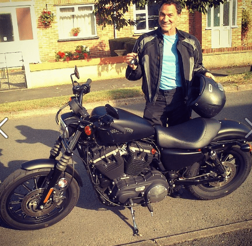 Jim Humphries – Harley Davidson Sportster 883