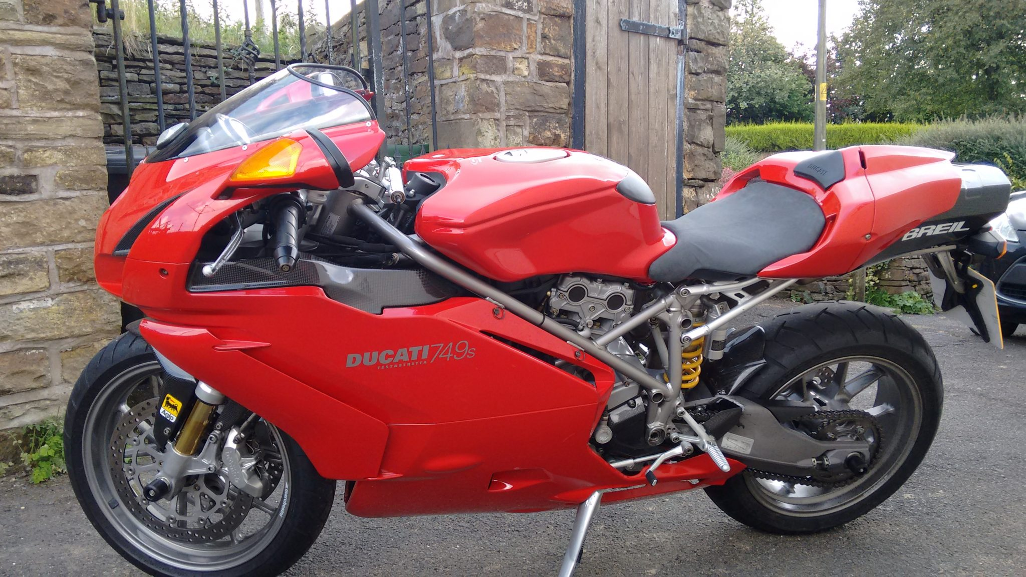 Keith – Ducati 749