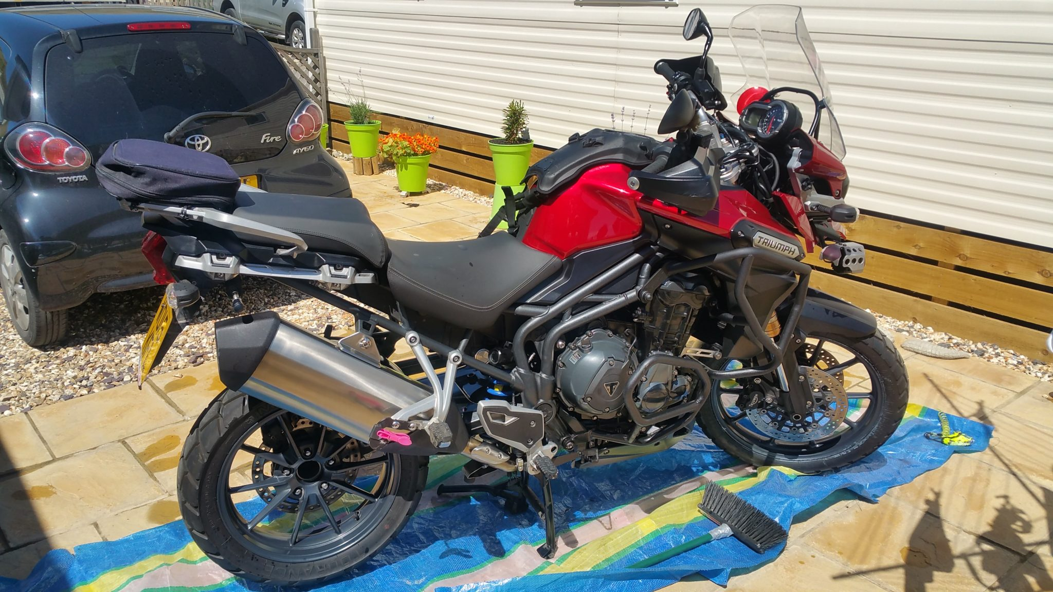 Keith Houselander – Triumph Tiger 1200 Explorer