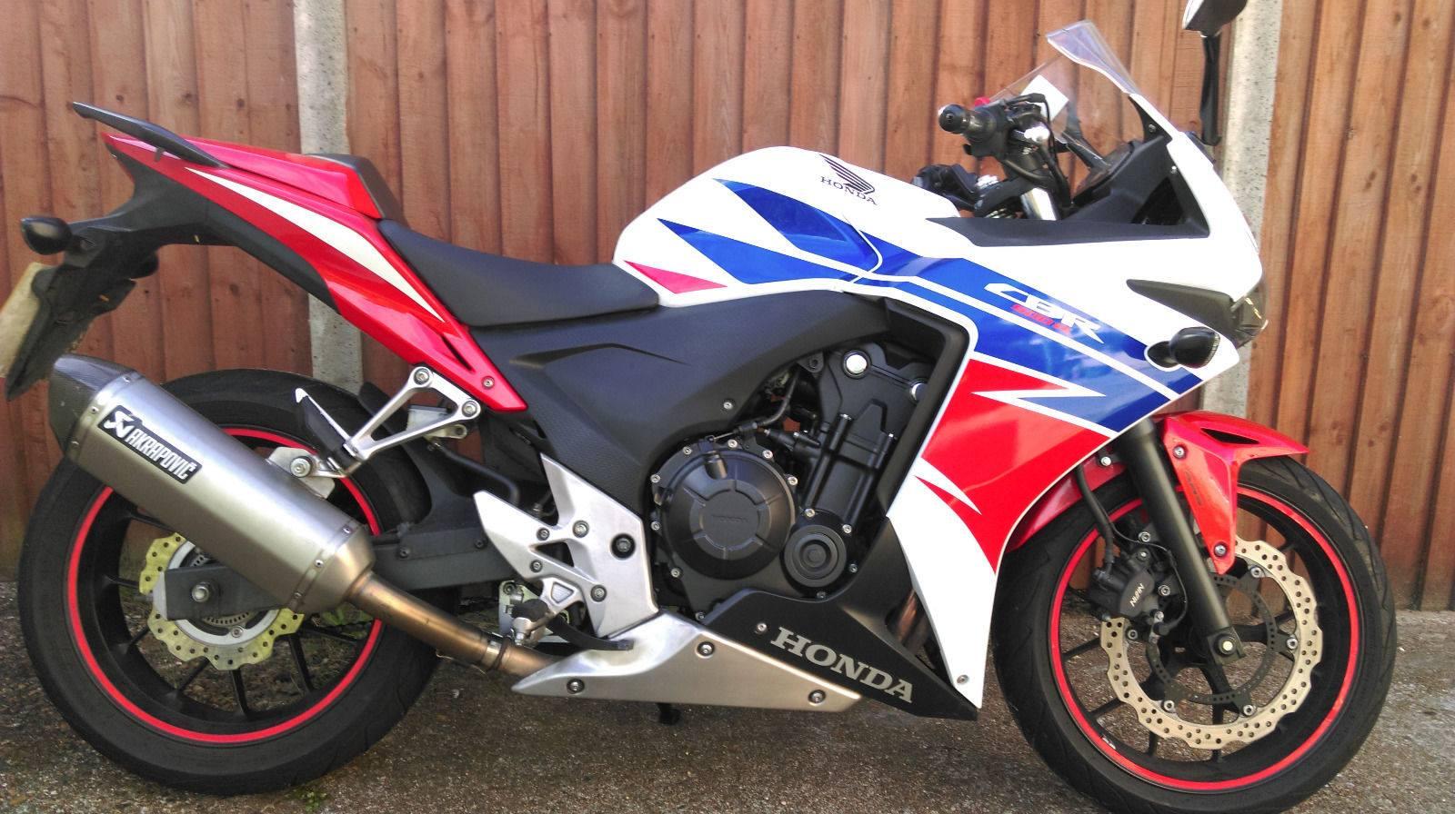 Max – Honda CBR500R