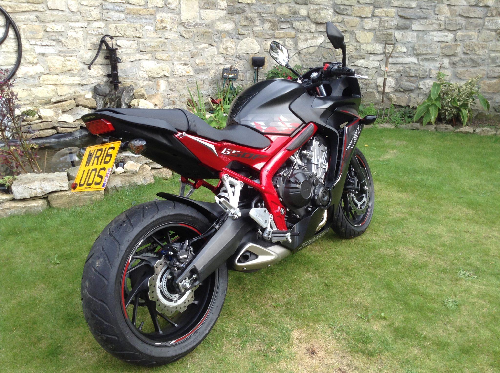 Neale Hargreaves – Honda CB650F 1