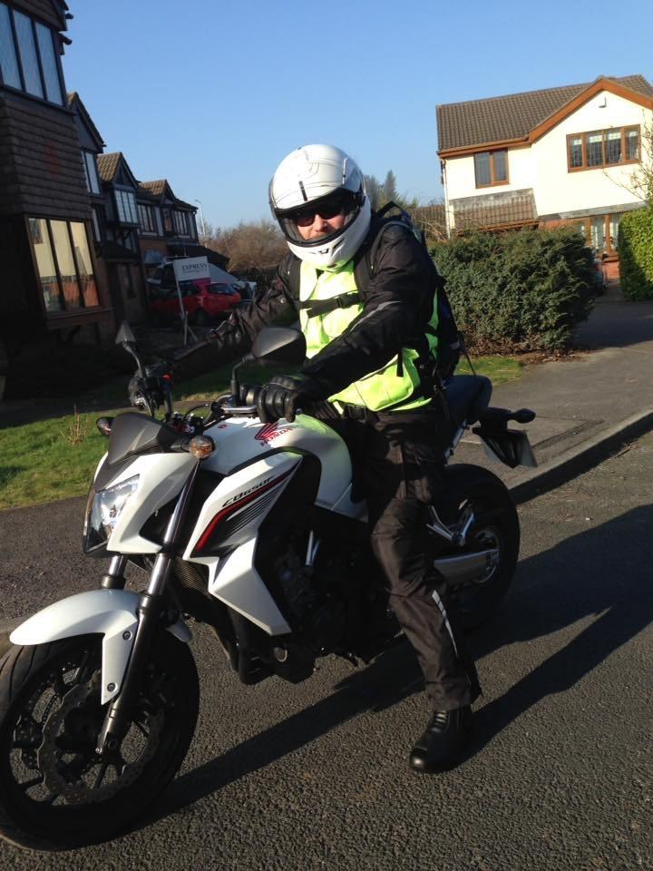 Nick – Honda CB650F 1