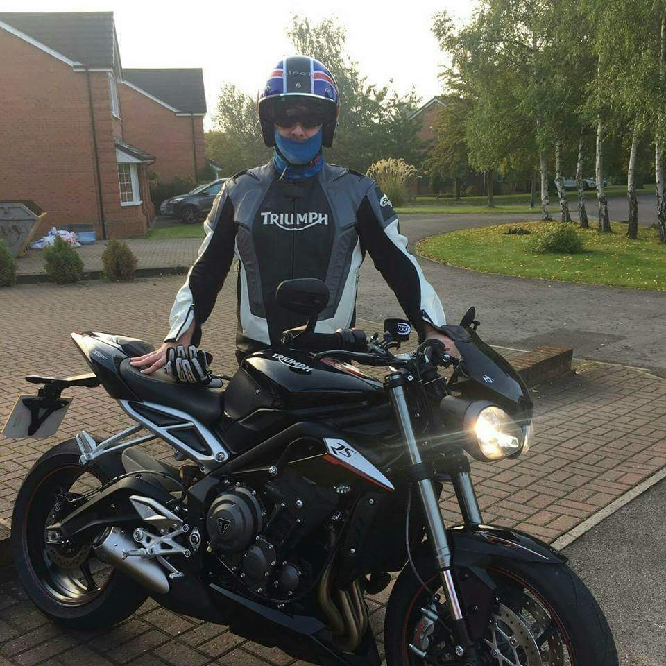 Phil – Triumph Street Triple 675