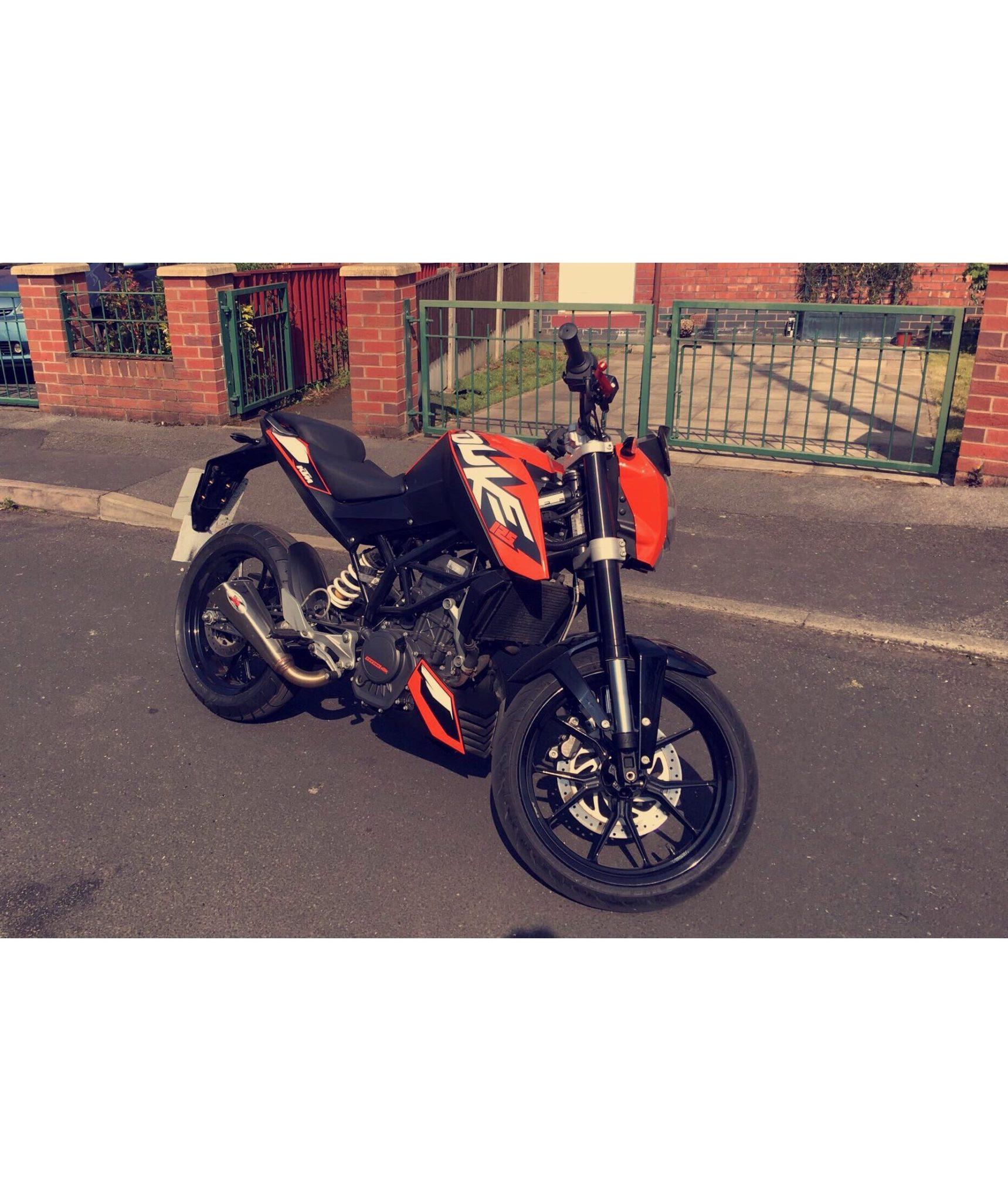 Rachy – KTM 125 Duke