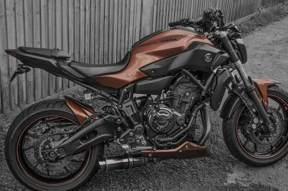 Reece Stanford – Yamaha MT-07
