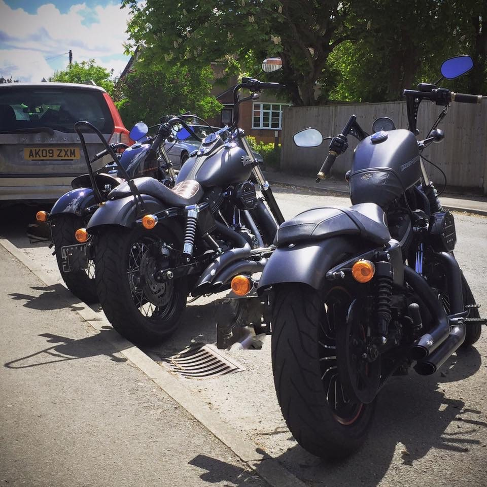 Rusty Beard – Harley Davidson Sportster 883 1