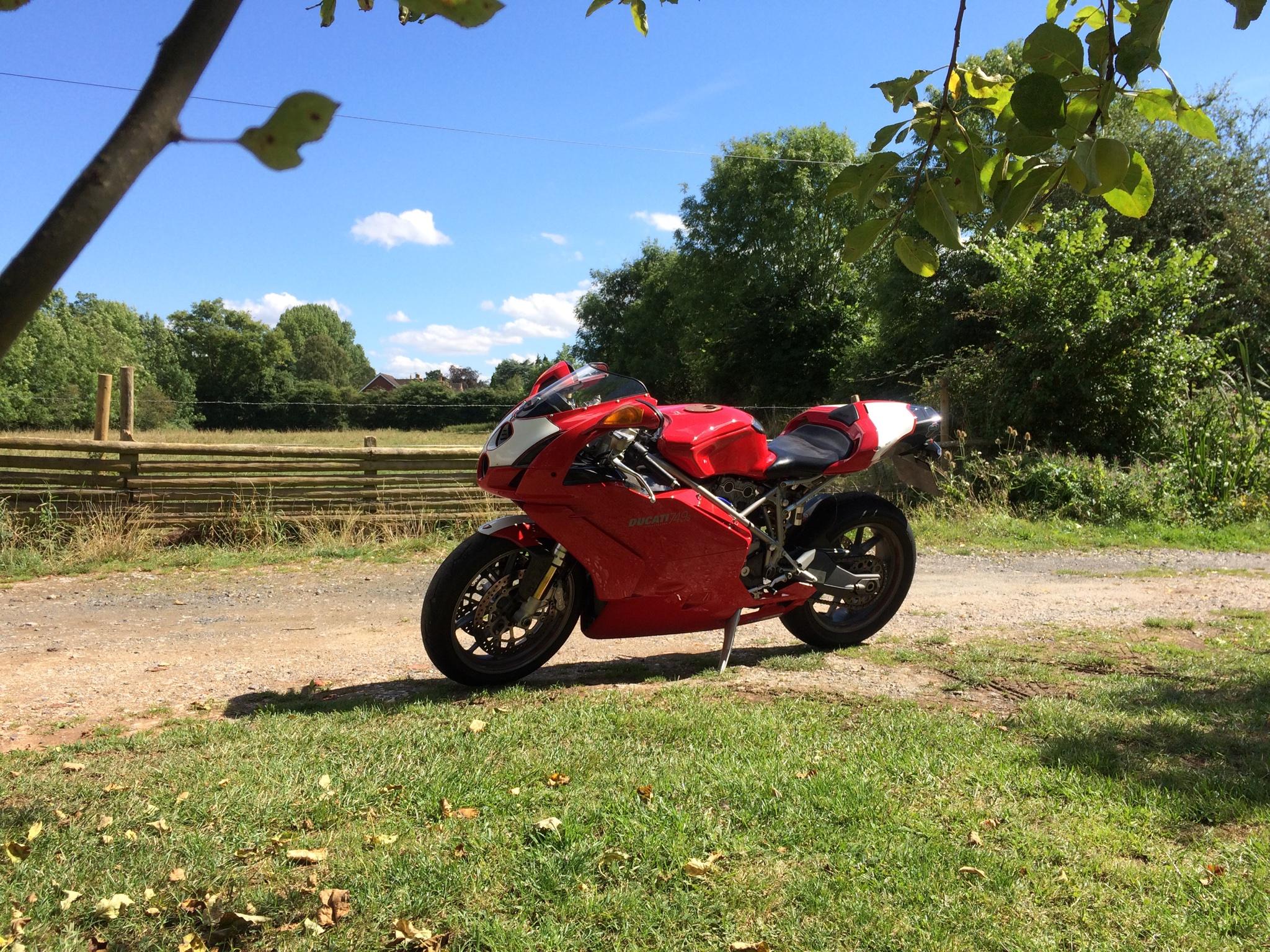 Sam – Ducati 749 1