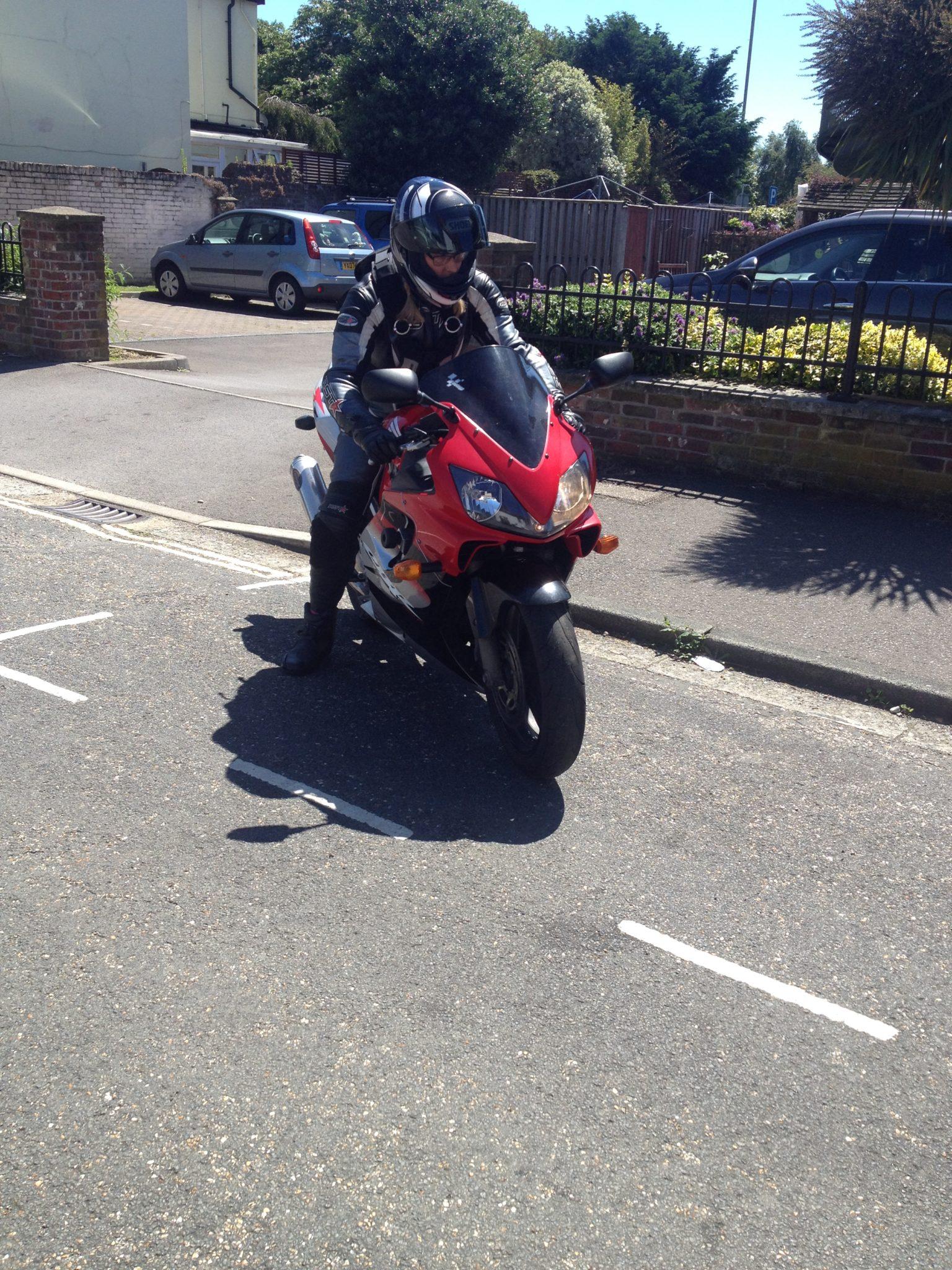 Sam – Honda CBR600F