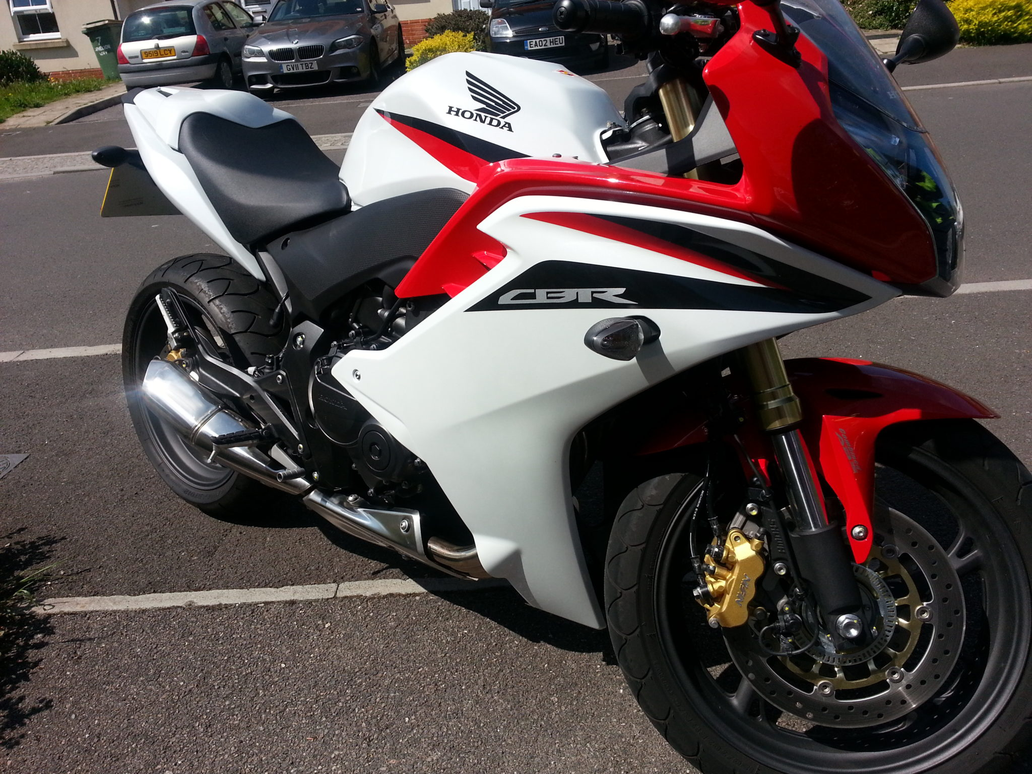 Sudhir – Honda CBR600F 2
