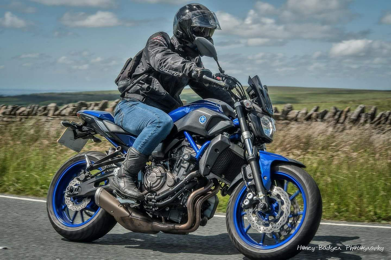 Tommy Roberts – Yamaha MT-07