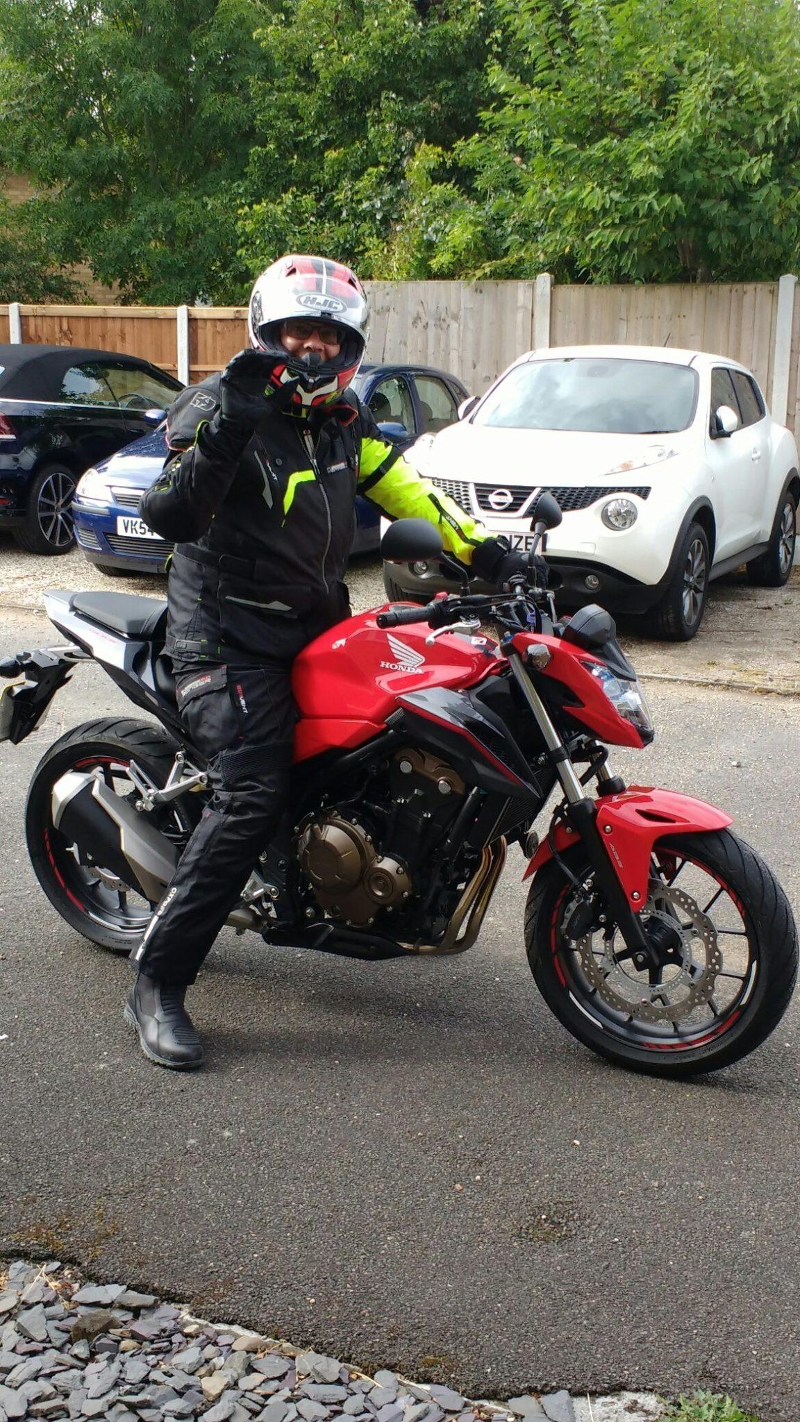 Tony Hammond – Honda CB500F