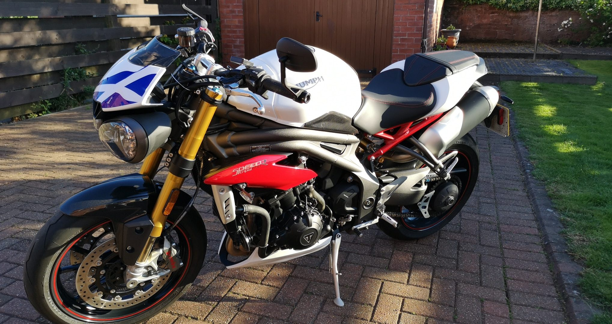 Triumph Speed Triple R – Allan Flower