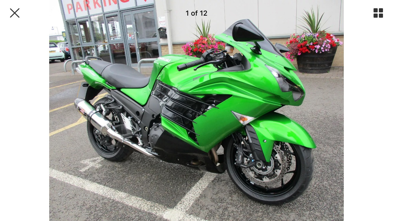Vic Price – Kawasaki ZZR1400