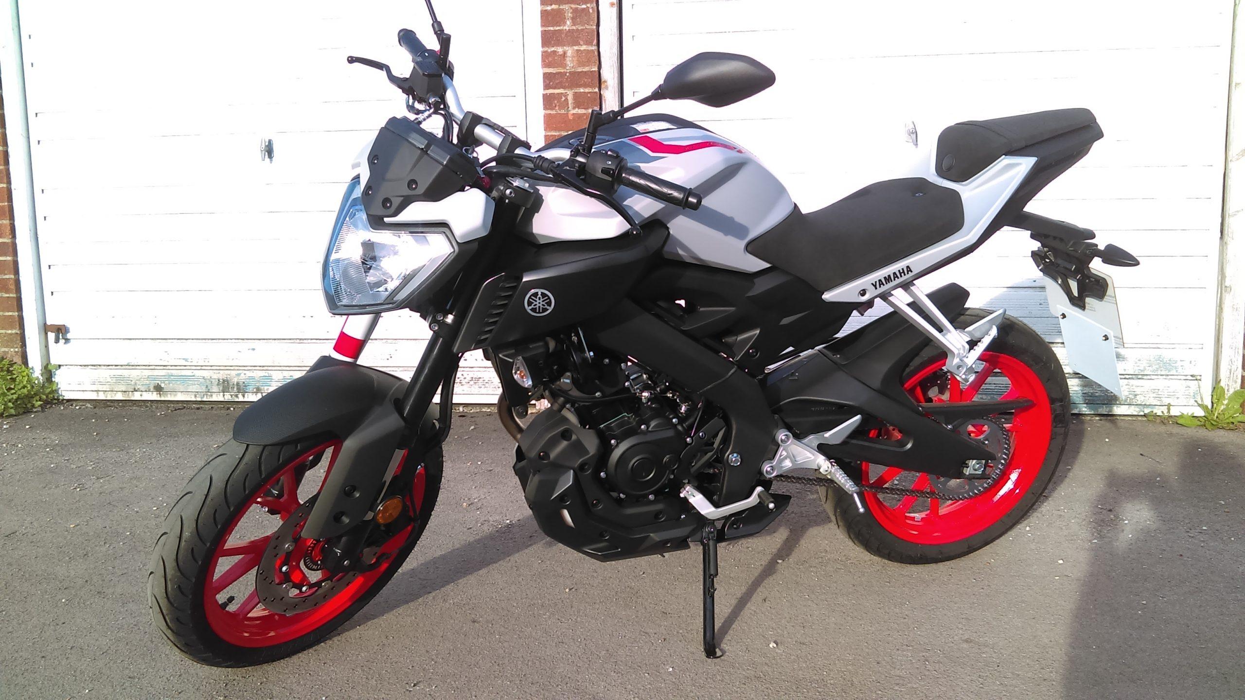 Yamaha MT-125 – Eryk 2