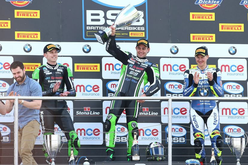 Luke Mossey, Leon Haslam and Christian Iddon - image credit @OfficialBSB