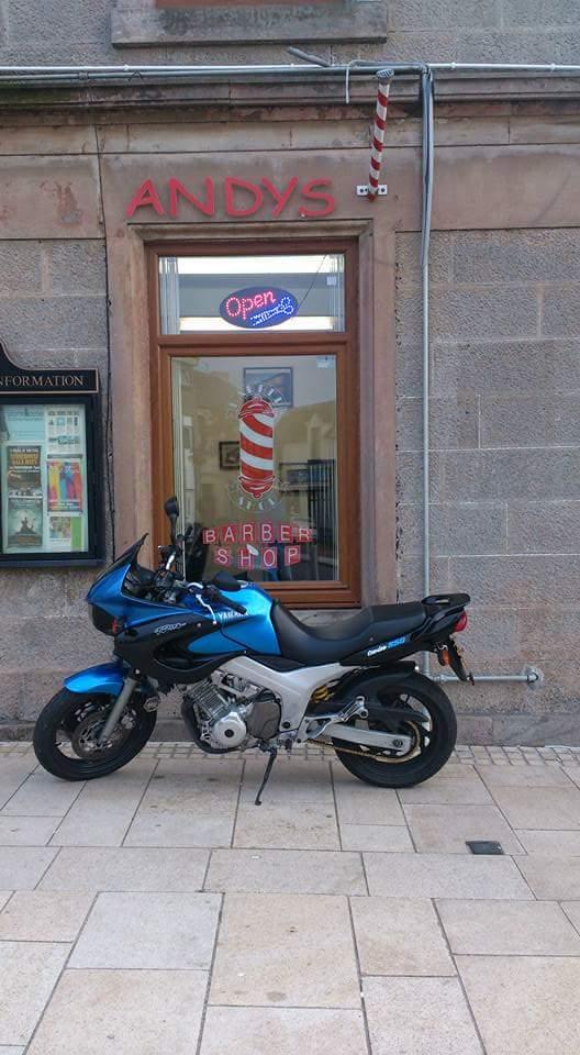 Andy The Barber – Yamaha TDM850