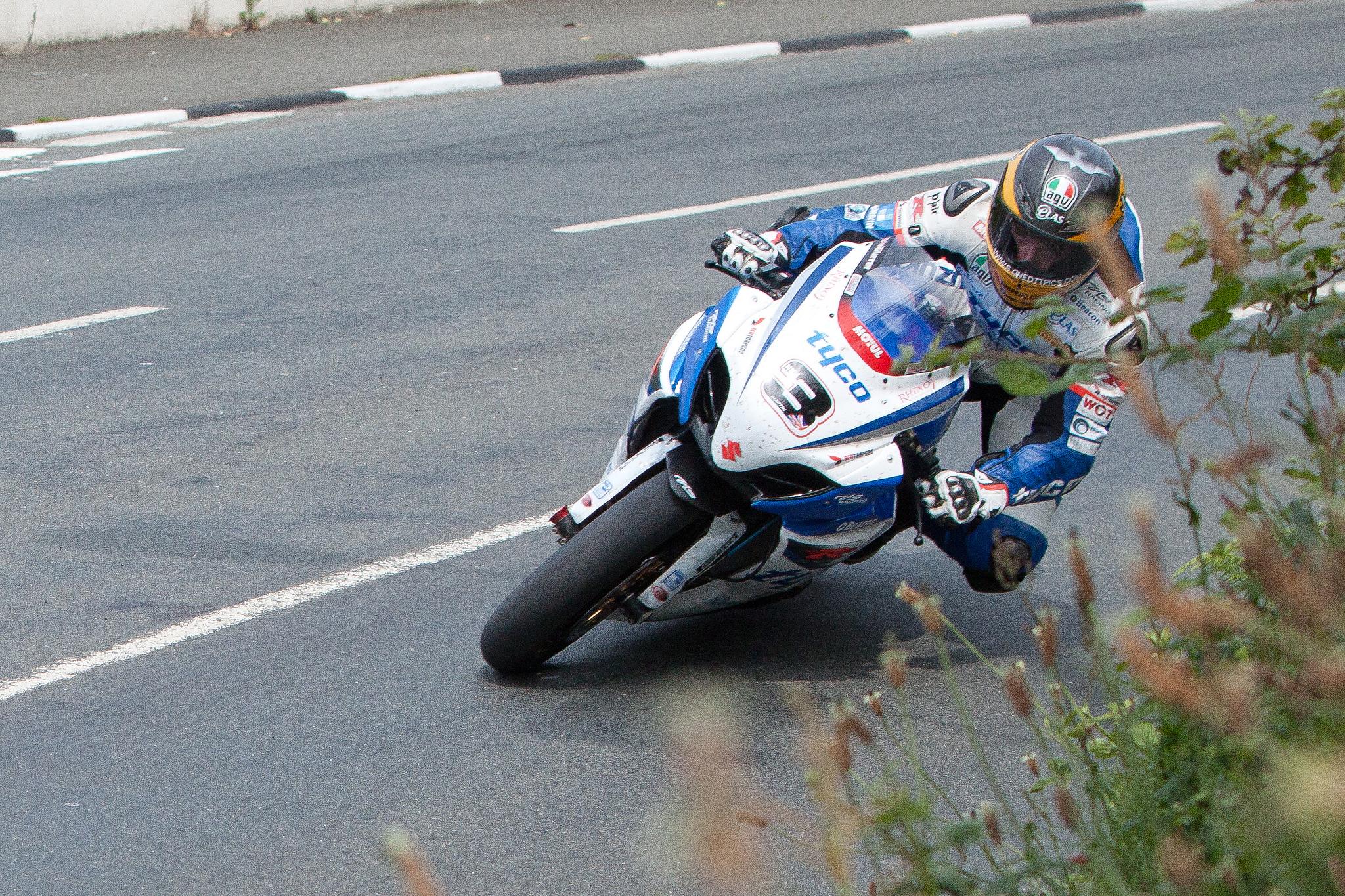 Guy Martin TT 2012 image credit Phil Long on flickr