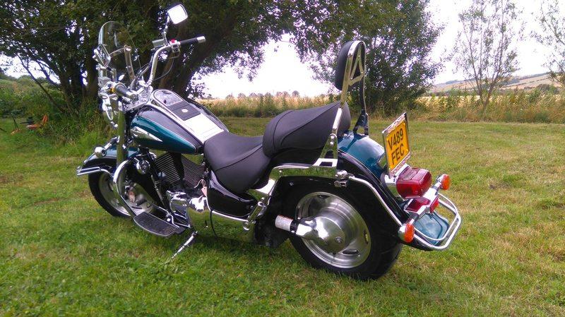 Henry Roscoe – Suzuki VL1500 Intruder 2