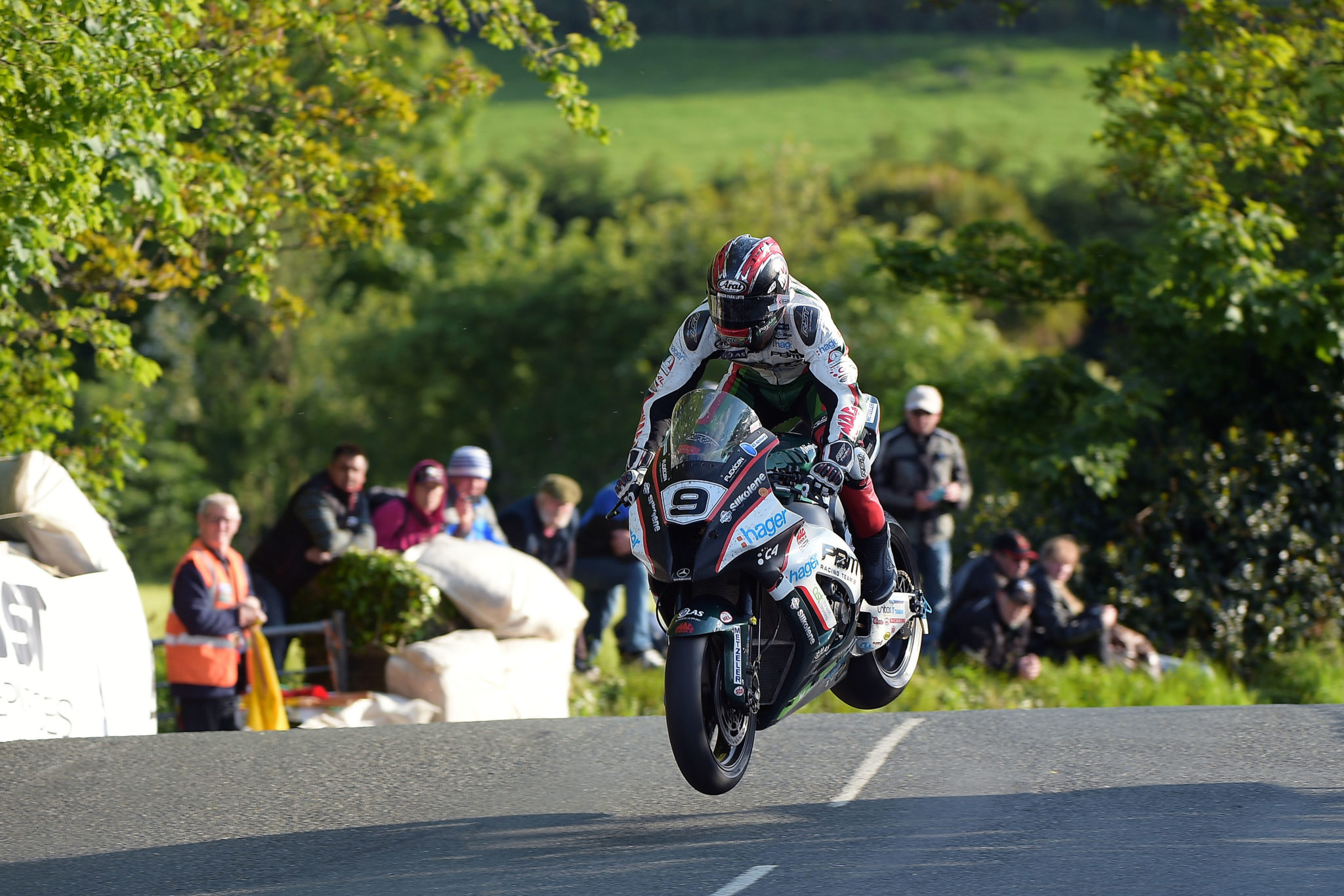 Hutchy doing what he does best at the TT, image credit Jon Jessop Photography