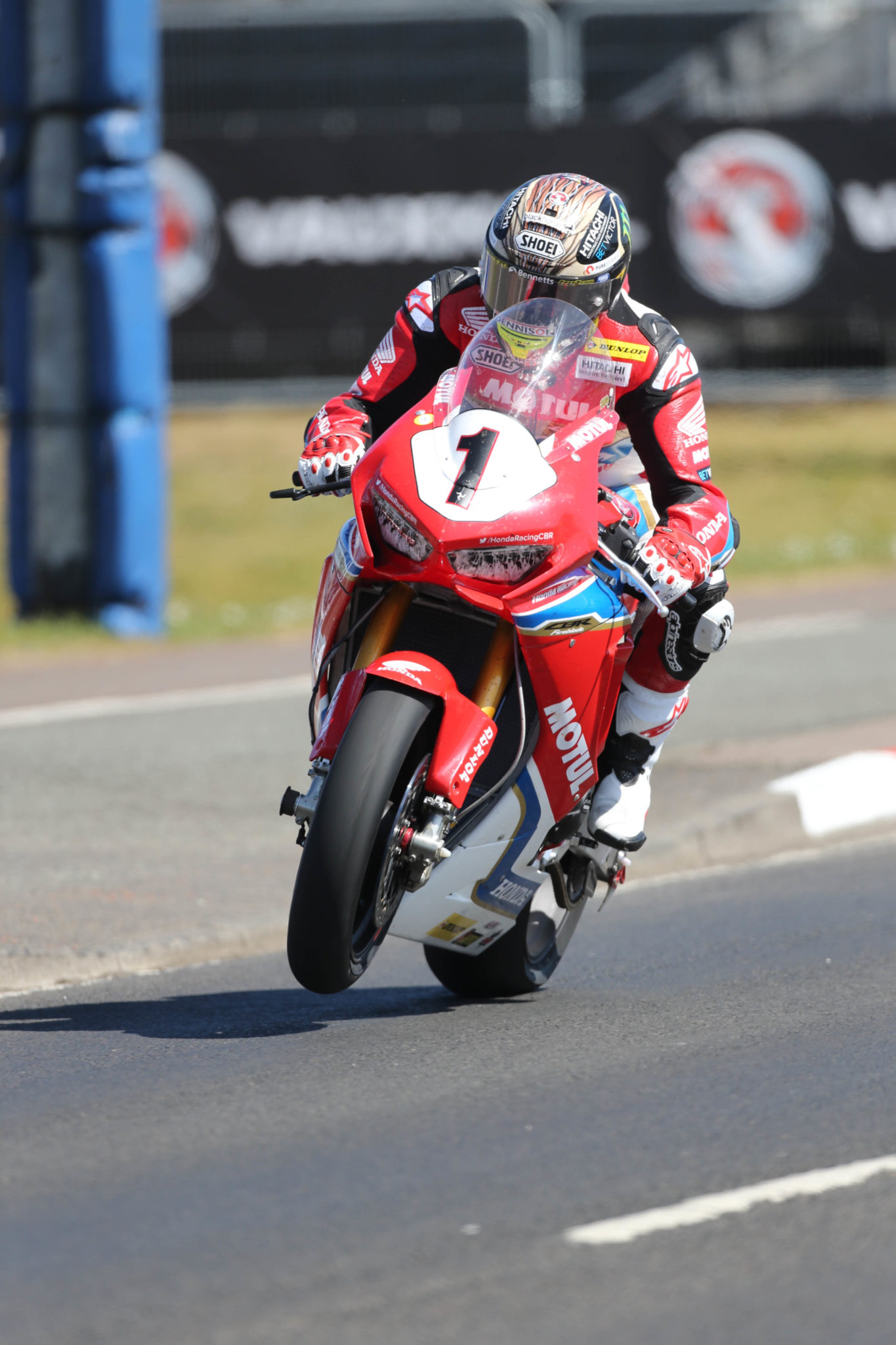 PACEMAKER BELFAST 09/05/2017 John McGuinness at the Vauxhall International North West 200 out on his super bike for Tuesday practice laps. Photo Stephen Davison/Pacemaker Press