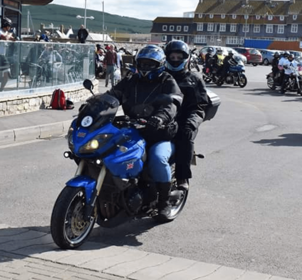 Pete Runcieman – Triumph Tiger 1050
