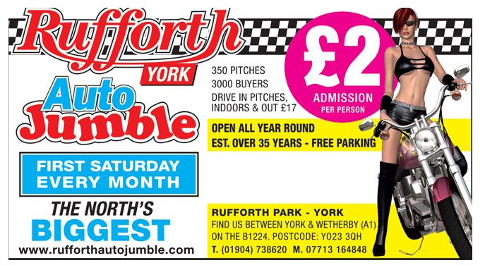 Rufforth York Autojumble