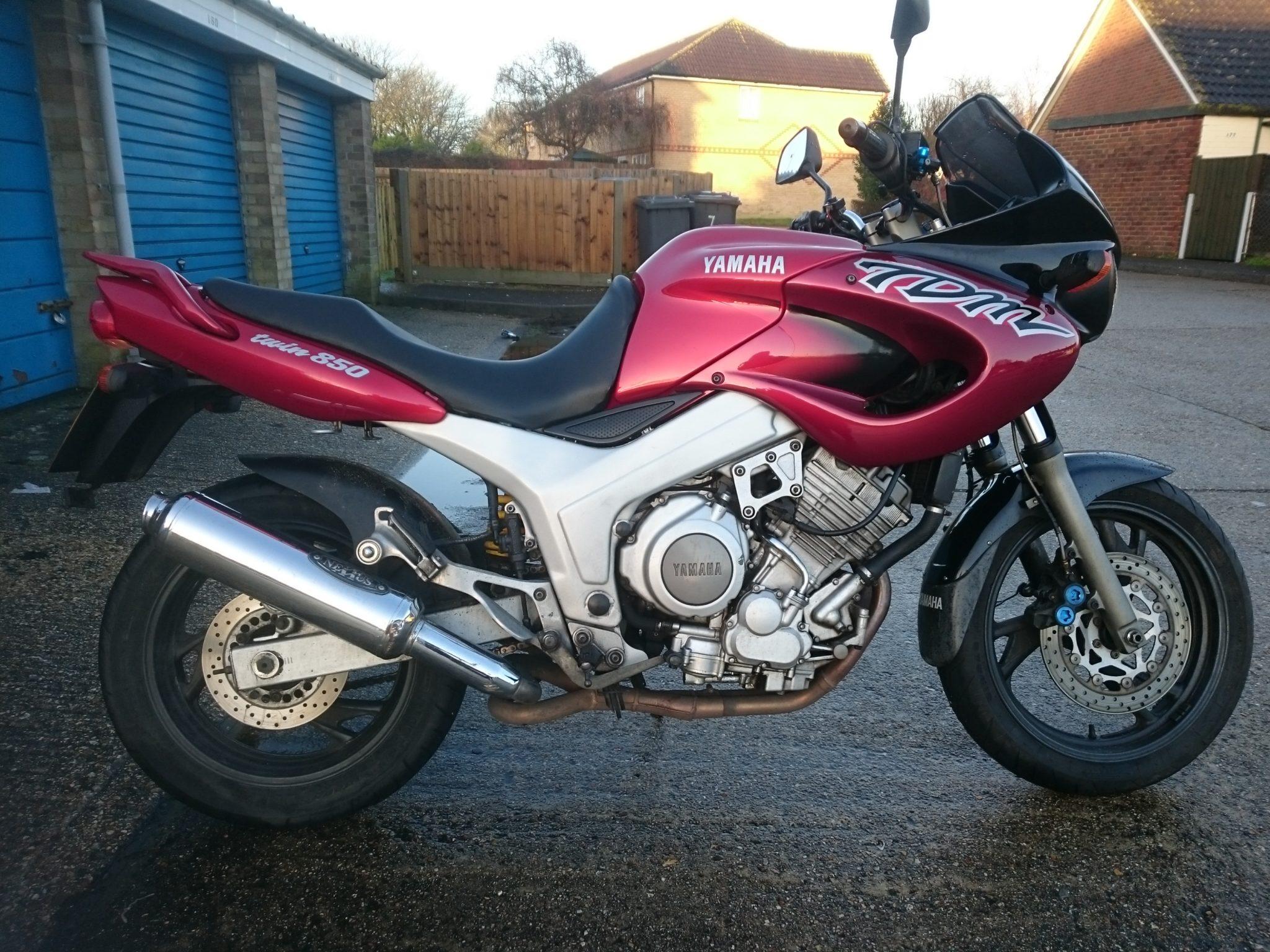 Simon O'Brien – Yamaha TDM850
